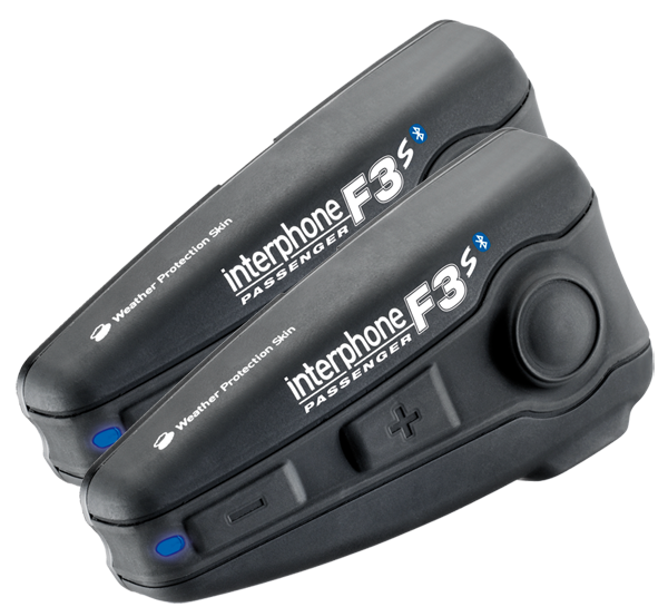 Coppia di interfoni Bluetooth F3S Plus per 2 caschi