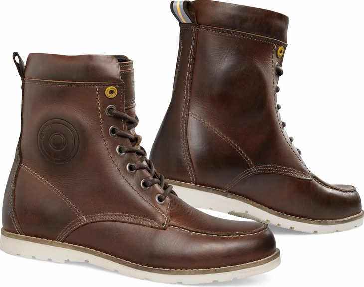 Boots Rev'It motorcycle Mohawk Brown