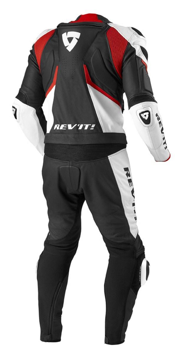 Biker motorcycle jacket Rev'it Stellar Black Red