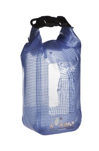 Tasca impermeabile Amphibious Mini Window Clear Azzurro