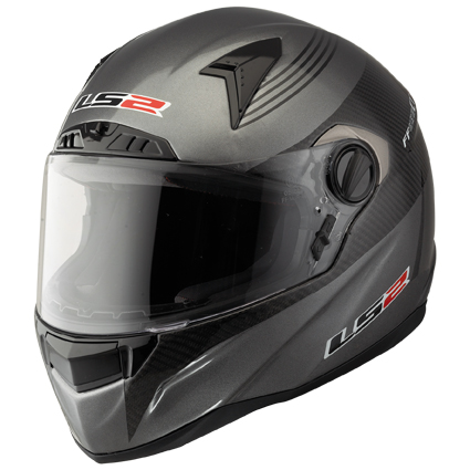 Casco integrale LS2 FF385 CT2 Titanium in Carbonio