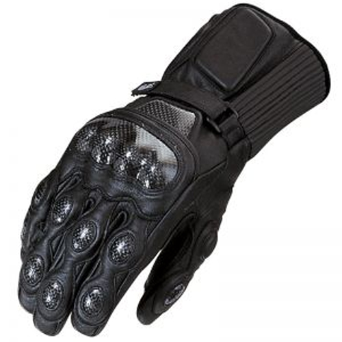 Furygan DEVIL racing leather gloves Black-Titan