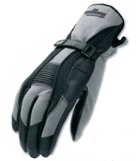 Furygan GUARD summer leather gloves Black-Grey