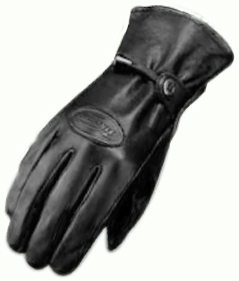 Furygan KEVIN leather summer gloves Black