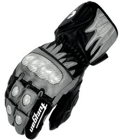 Furygan CENTAUR RACING leather gloves Black-Gray