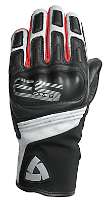 REV'IT! Comet Summer Gloves - Col. Black/Red