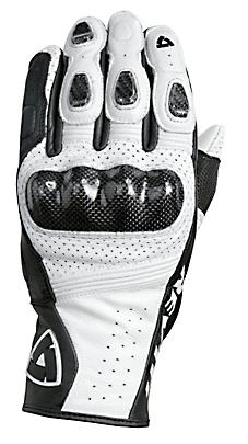 REV'IT! Airvolution Summer Gloves - Col. White/Black