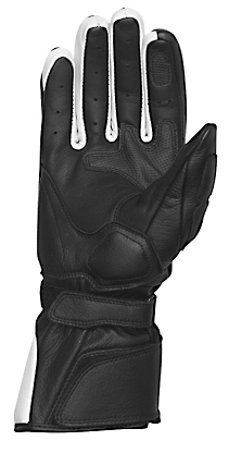 REV'IT! Quantum Ladies' Summer Gloves - Col. Black/White