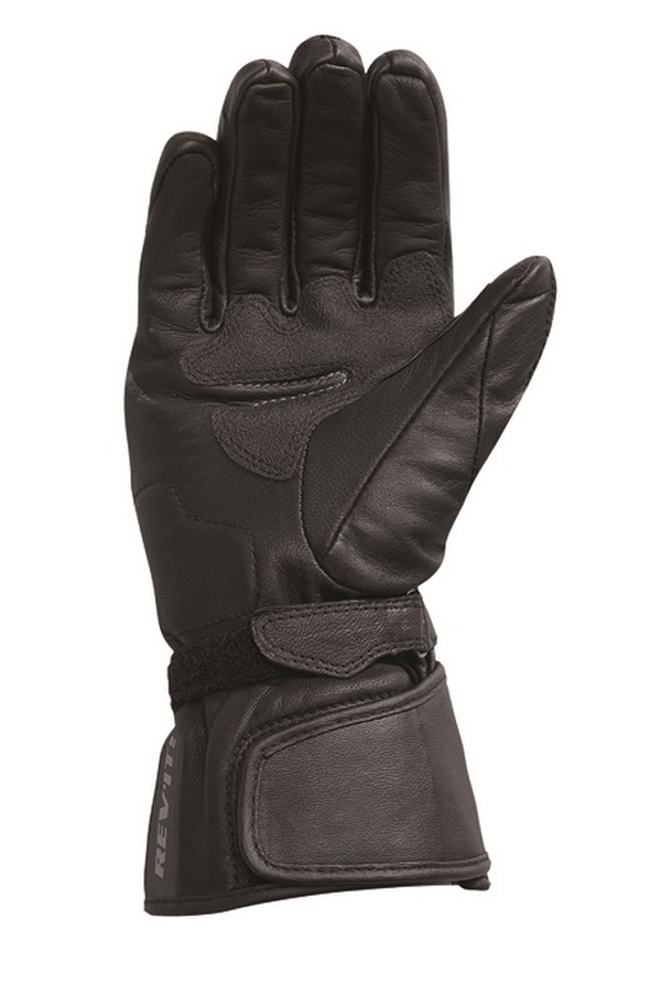 Leather motorcycle gloves Rev'it Summer Bliss Black