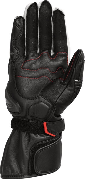 Rev'it RSR leather gloves black white