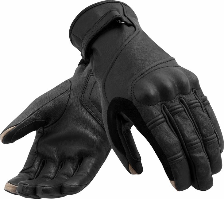 Guanti moto estivi Rev'it Mantra H2O Nero