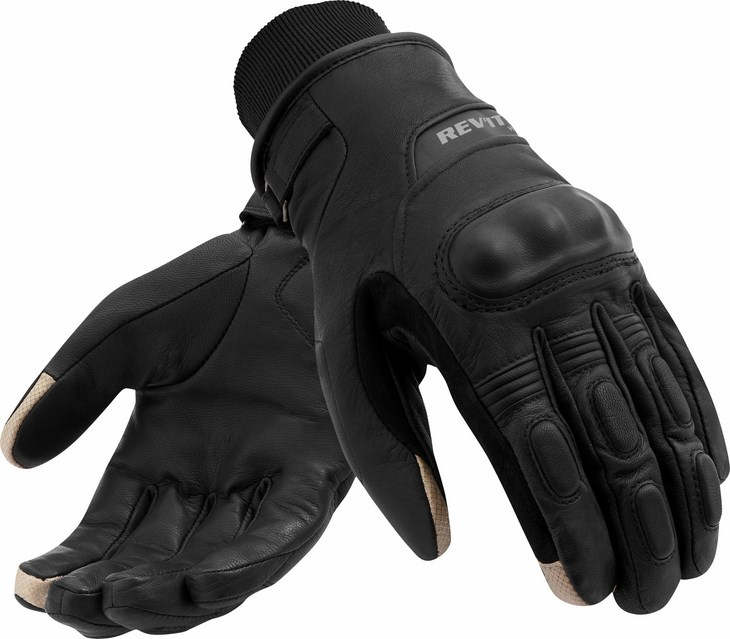 Motorcycle gloves Rev'It Boxxer H2O Black