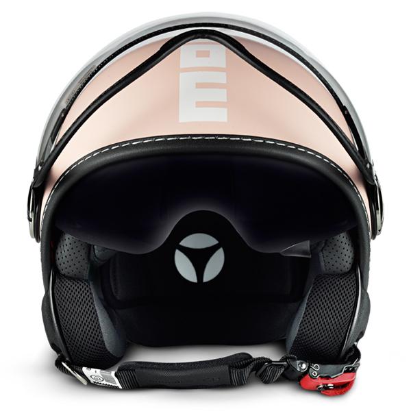 Momo Design Fighter Plus jet helmet Pink
