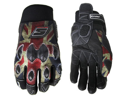 Five STUNT Replica gloves UnionJack