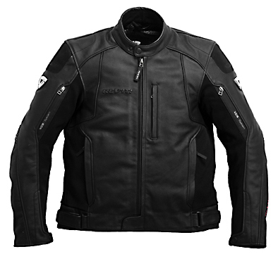 REV'IT! Adrenaline Leather Jacket - Col. Black