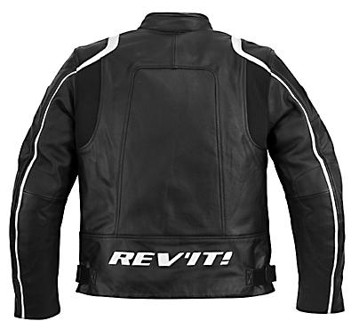REV'IT! Zodiac Jacket - Col. Black/White