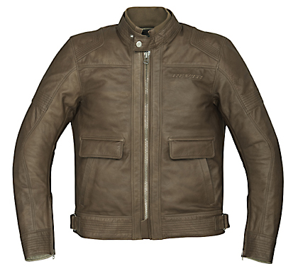 REV'IT! Rogue Leather Jacket - Col. Camel