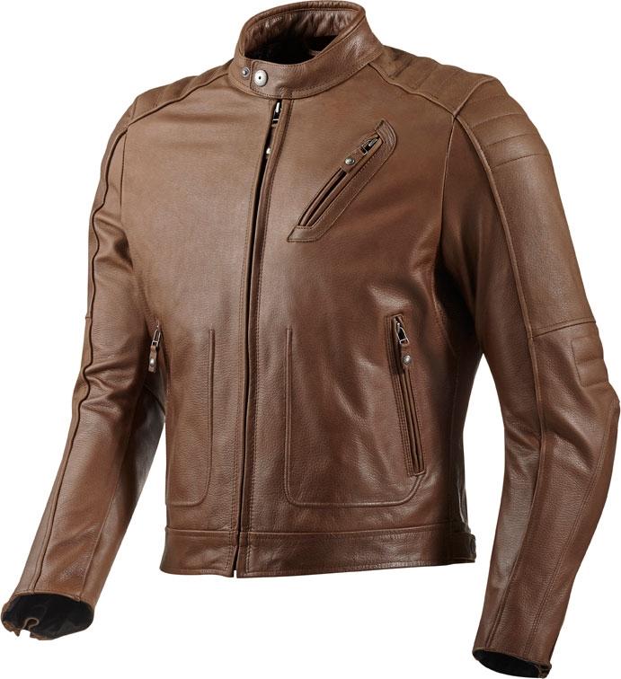 Rev'it Redhook leather jacket brown