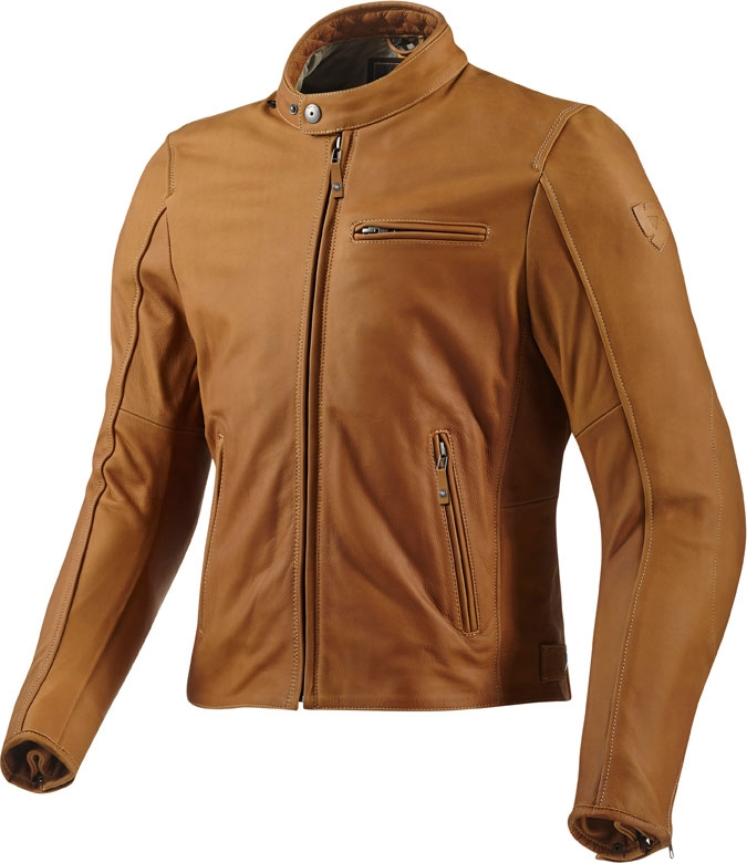 Rev'it Flatbush leather jacket camel