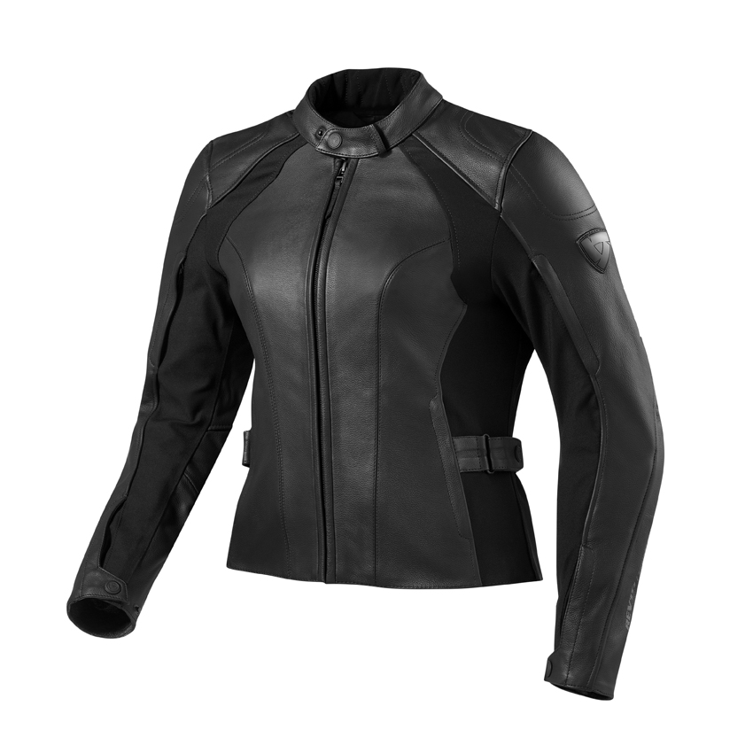 Giacca moto donna pelle Rev'it Allure Evo Ladies Nero