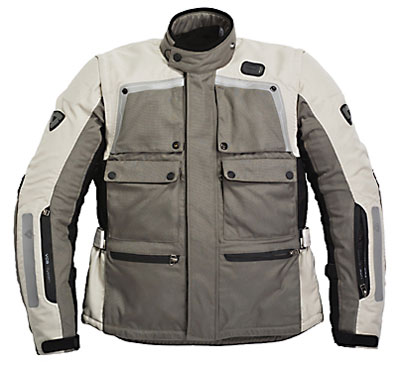 REV'IT! Cayenne Pro Jacket - Col. Light Grey/Black