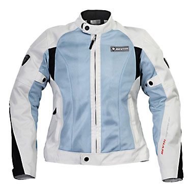 REV'IT! Air Ladies' Jacket - Col. Silver Grey/Light Blue