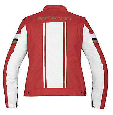 REV'IT! CR Ladies' Jacket - Col. Red/White