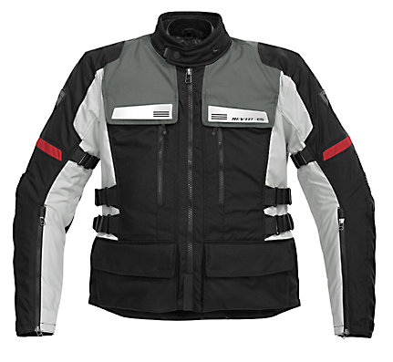 REV'IT! Sand Jacket - Col. Black/Silver Grey