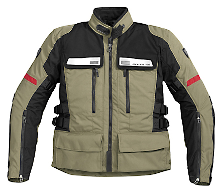 REV'IT! Sand Jacket - Col. Safari/Black