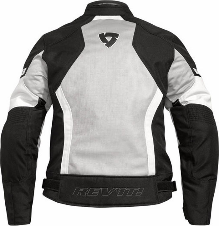 Rev'it Airwave Ladies summer motorcycle jacket black-silver