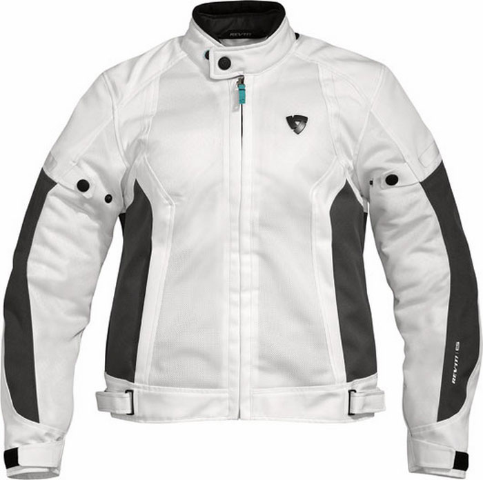 Rev'it Airwave Ladies summer motorcycle jacket white-anthracite