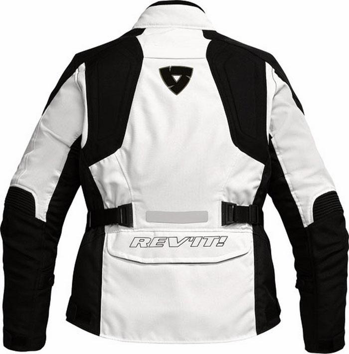 Giacca moto donna Rev'it Indigo Ladies argento-nera