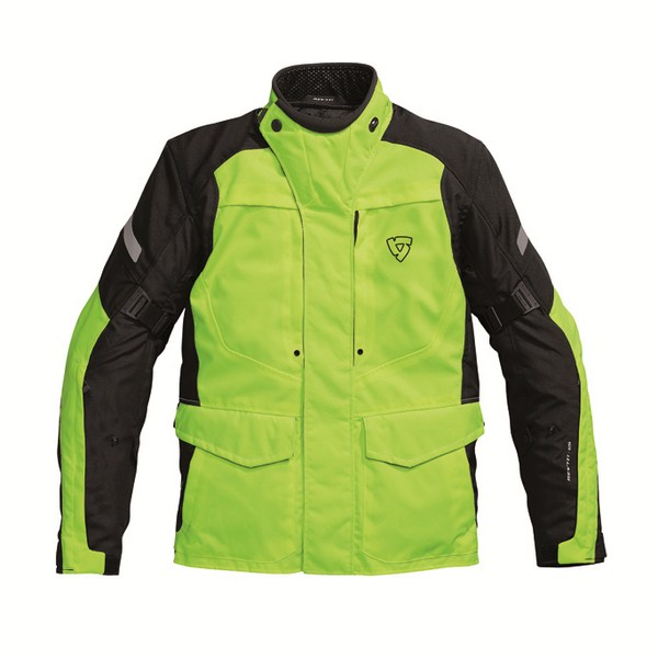 Giacca moto Rev'it Spectrum HV Giallo Neon Nero