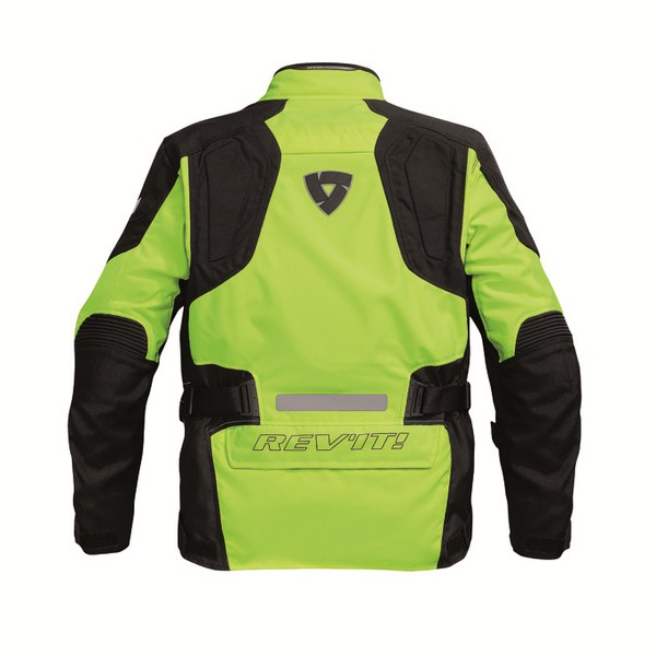 Motorcycle jacket Rev'it Spectrum HV Neon Yellow Black
