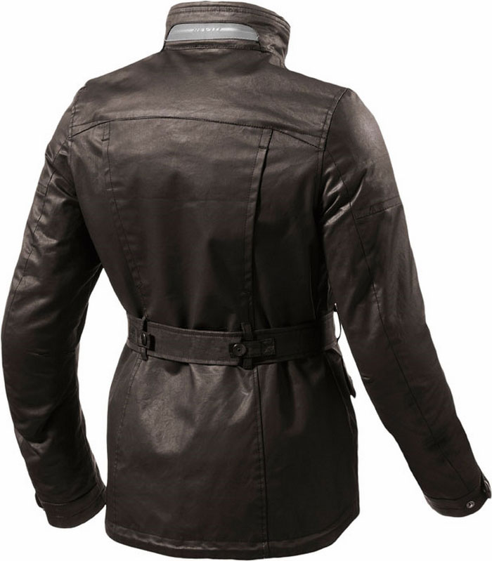 Giacca moto donna urban Rev'it Gracia Ladies marrone