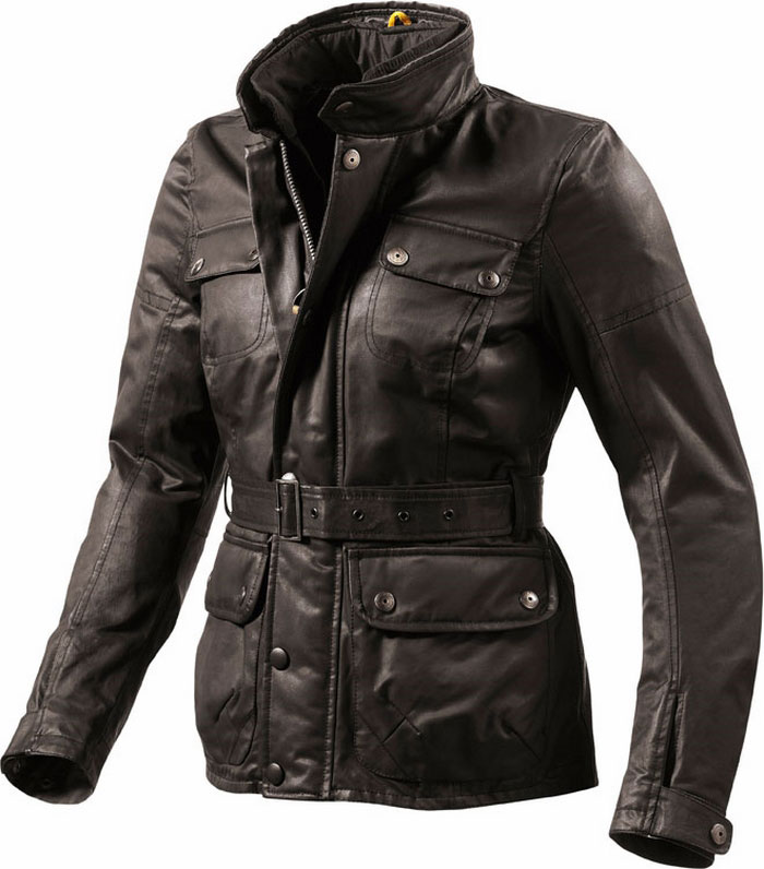 Rev'it Gracia Ladies motorcycle jacket brown Urban Collection