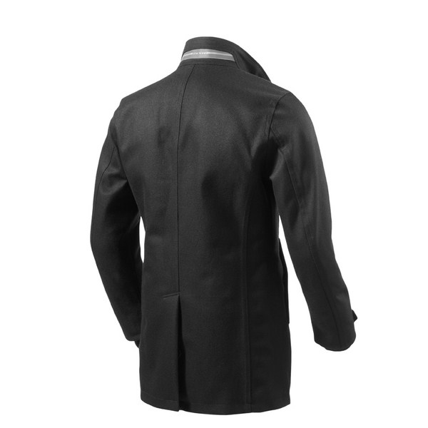 Square black motorcycle jacket Rev'it
