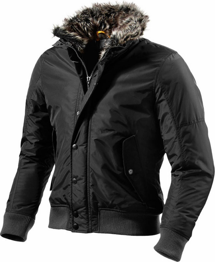 Rev'it Brera motorcycle jacket black Urban Collection