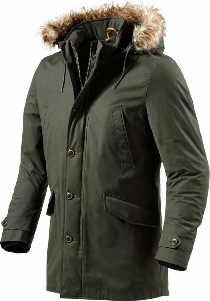 Rev'it Rambla  motorcycle jacket dark green Urban Collection