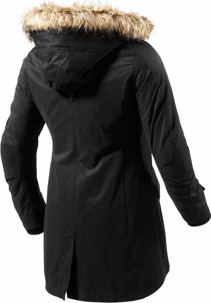 Rev'it Taksim Ladies motorcycle jacket black Urban Collection