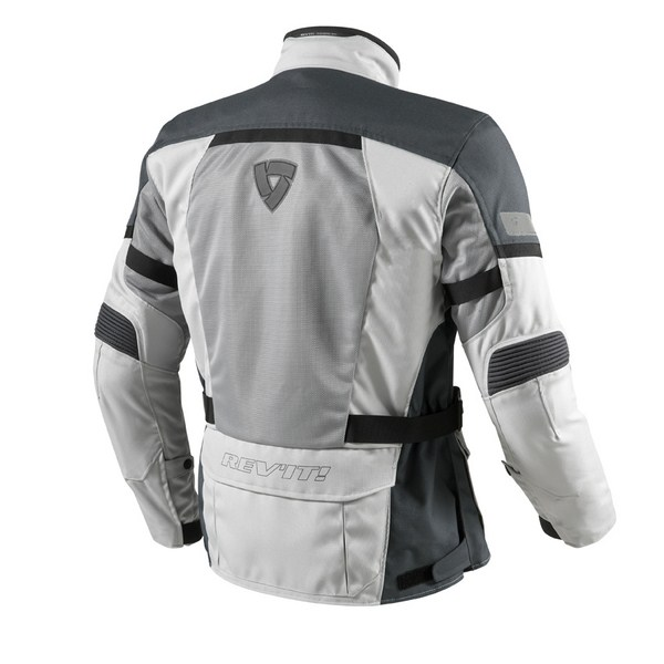 Giacca moto Rev'it Levante Argento Antracite