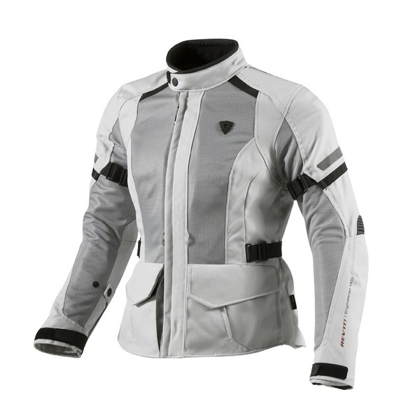 Motorcycle jacket Rev'it woman Levante Silver
