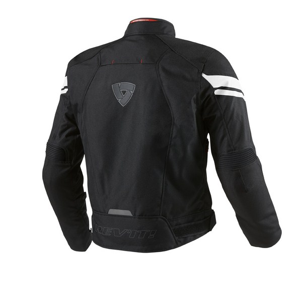 Motorcycle jacket Rev'it Excalibur Black Silver