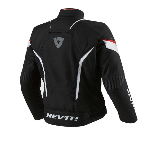 Motorcycle jacket Rev'it Jupiter Black Red
