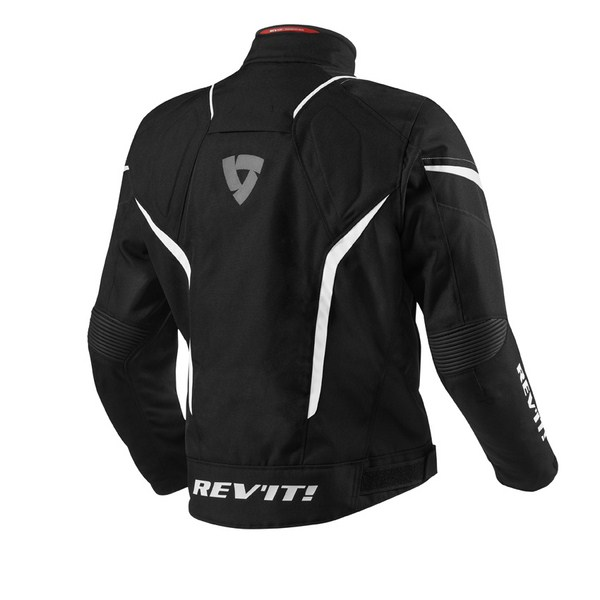 Motorcycle jacket Rev'it Jupiter Black White