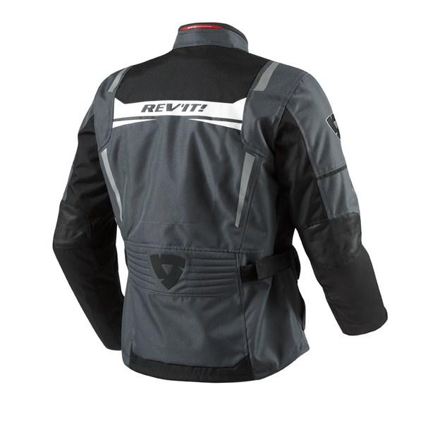 Motorcycle jacket Rev'it Nautilus Anthracite Black