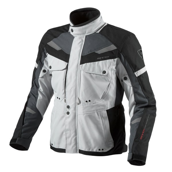 Motorcycle jacket Rev'it Safari Anthracite Silver