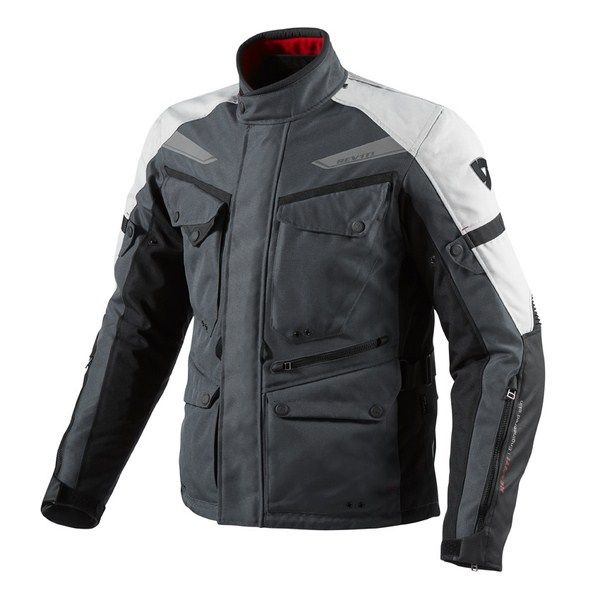 Giacca moto Rev'it Outback Antracite Argento