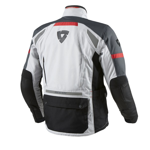 Giacca moto Rev'it Outback Argento Antracite