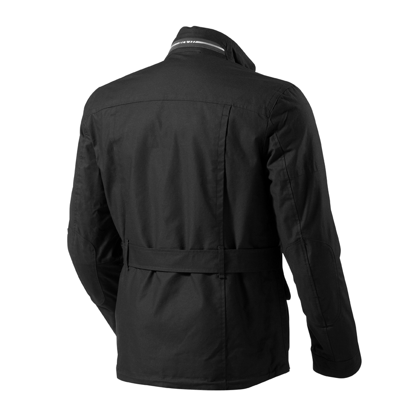 Black Oxford motorcycle jacket Rev'it